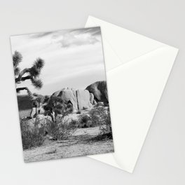 Black and White Joshua Tree National Park Stationery Cards