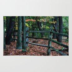 Forest Fence Rug