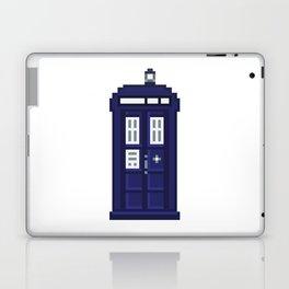 8-bit TARDIS Laptop & iPad Skin