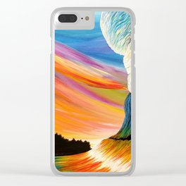 Hawaiian Slides Clear iPhone Case