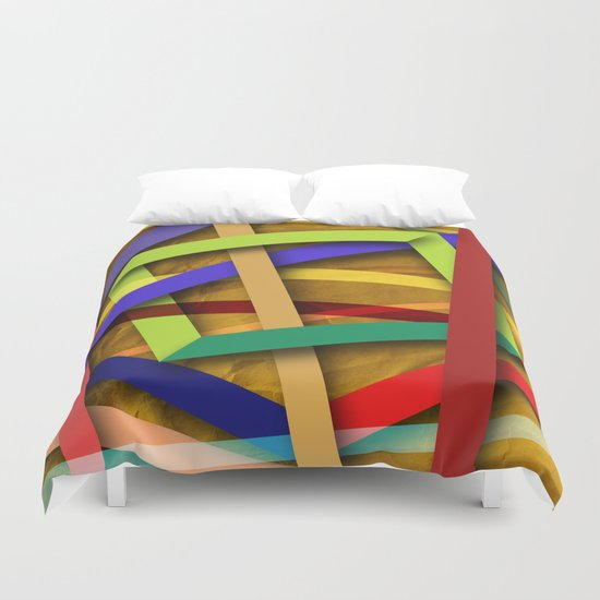 Abstract #356 Duvet Cover
