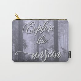 Explore the unseen mystic misty woods adventure Carry-All Pouch