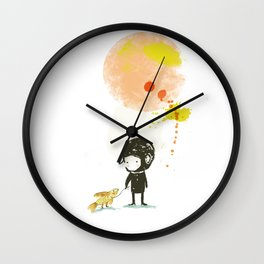 Lester, take a walk. Wall Clock
