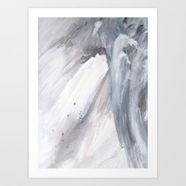 Crashing Waves v.2 Art Print