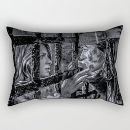Supercorp- Commodore Kara + Pirate Lena Rectangular Pillow