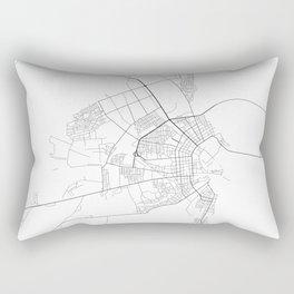 Minimal City Maps - Map Of Bobruysk, Belarus. Rectangular Pillow