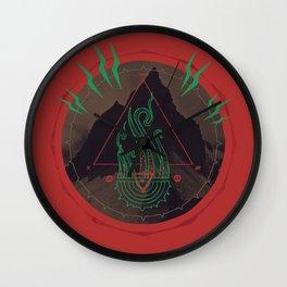 Mountain of Madness Wall Clock