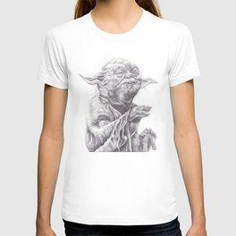 Yoda sketch T-shirt