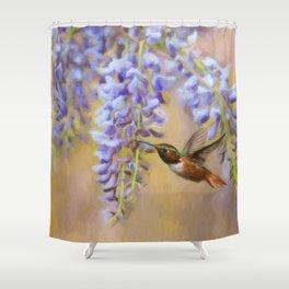 Wisteria Elegance Shower Curtain