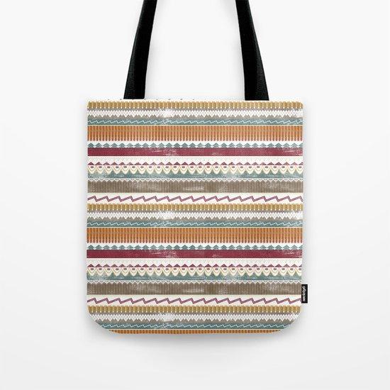 AZTEC STRIPES Tote Bag