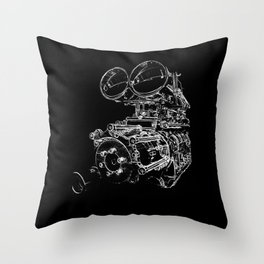 holden ford Throw Pillow