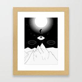 Inner Landscape Framed Art Print
