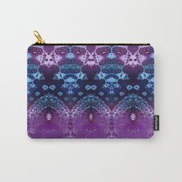 Hippy Blue and Lavender Carry-All Pouch