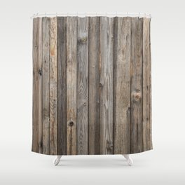 Boards Shower Curtain