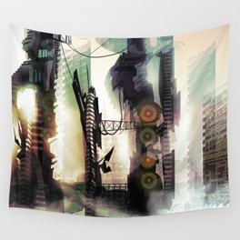 City Lost Wall Tapestry