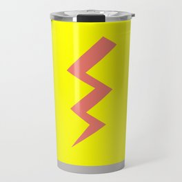Pink Lightning Travel Mug