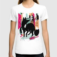 giants T-shirts featuring GIANTS! Fox by Pietari Posti