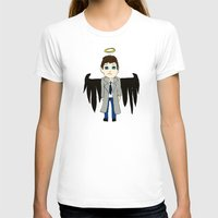 castiel T-shirts featuring Castiel by Chrizzy0789