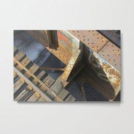 BU Bridge Metal Print