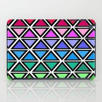 triangle iPad Cases featuring Triangle by Laura Maria Designs