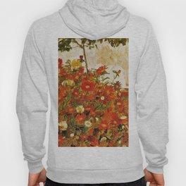 Egon Schiele Field of Flowers 1910 Hoody