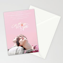 Call Me By Your Name Pink Stationery Cards