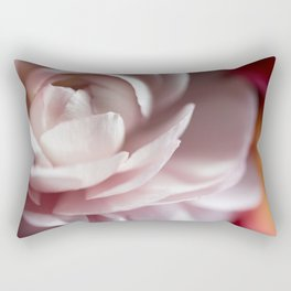 pink garden rose 2 Rectangular Pillow