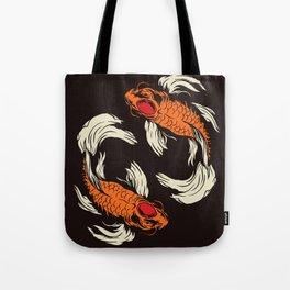 Two Koi Tote Bag