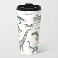 Dinosaurs Metal Travel Mug