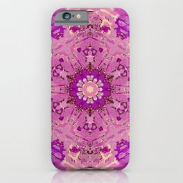 Shield Me In Pink iPhone Case