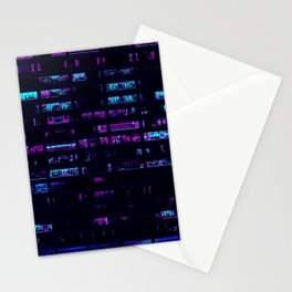 Cyberpunk Apartments Stationery Cards