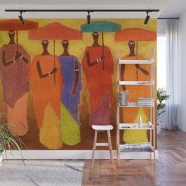 African American Masterpiece 'African Royalty' by Ellis Wilson Wall Mural
