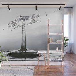 Water drop splash 0500 Wall Mural