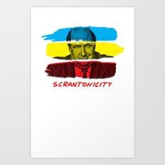 Scrantonicity Art Print