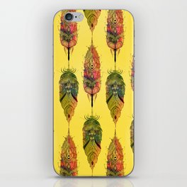 Feather design iPhone Skin