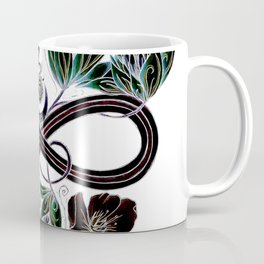 Infinity Moon Garden in Pastel at Midnight Coffee Mug