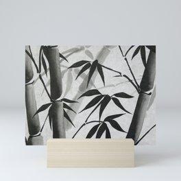 Bamboo Sumi-e Mini Art Print