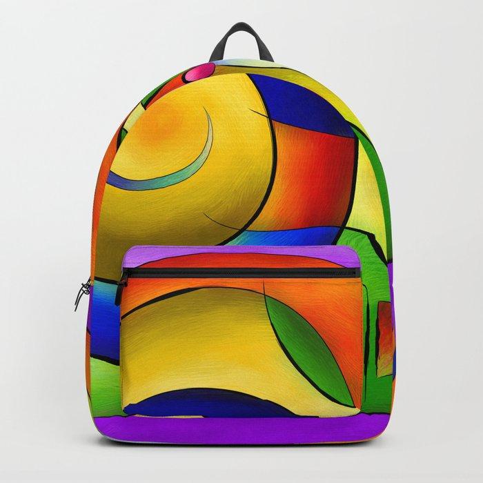 Fenimeussa - blue spiral beauty Backpack