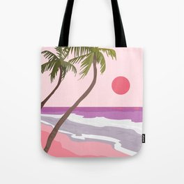Tropical Landscape 01 Tote Bag