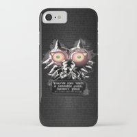 majora iPhone & iPod Cases featuring Majora Mask by Janismarika