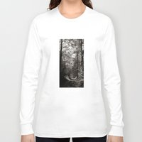 forrest Long Sleeve T-shirts featuring forrest II. by Zsolt Kudar