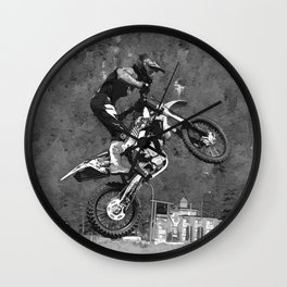MotoX  Flier Wall Clock
