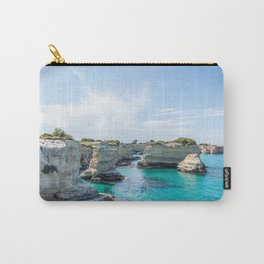 Seacoast of Adriatic Sea in Salento Italy Carry-All Pouch
