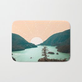 NORTH CASCADES Bath Mat
