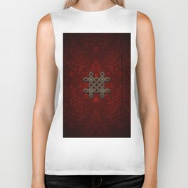 Decorative celtic knot Biker Tank