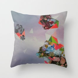 Mineral Fracture Throw Pillow
