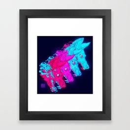 P L U N G E Framed Art Print