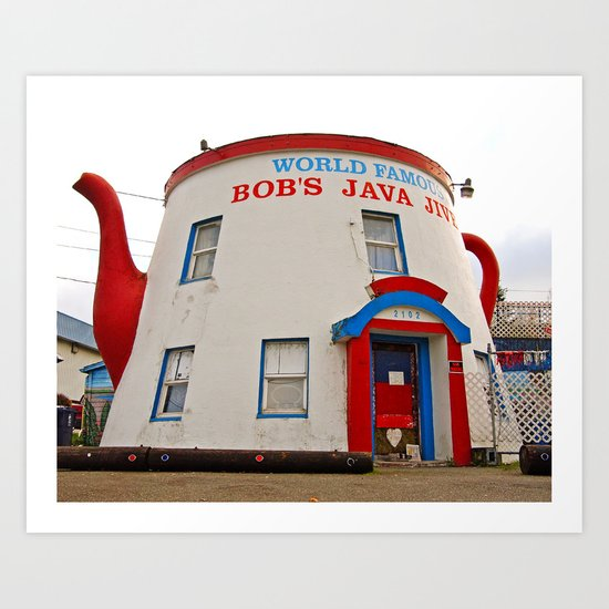 World Famous Java Jive Art Print