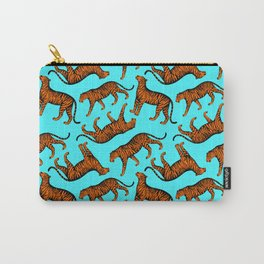 Tigers (Blue and Orange) Carry-All Pouch