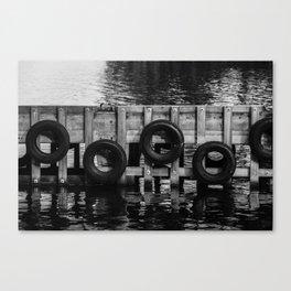 Tyre bumpers - Tasmania Canvas Print